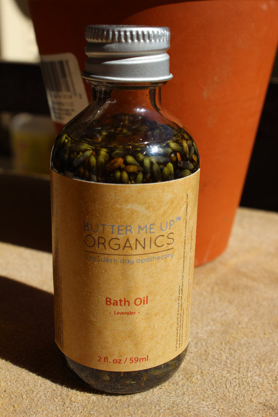 Bath Oil Healing and Relaxing Lavender - Tiny Town Essentials