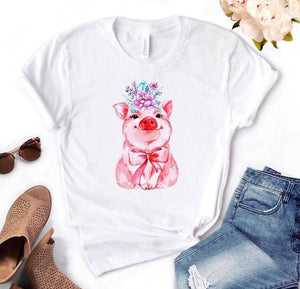 Pig Bandana Graphic Tee - Tiny Town Essentials