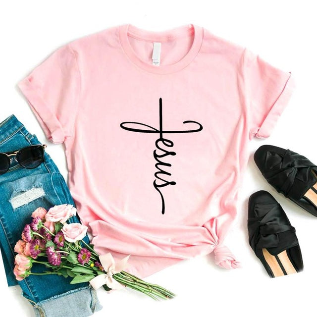 Jesus Graphic Tee - Tiny Town Essentials
