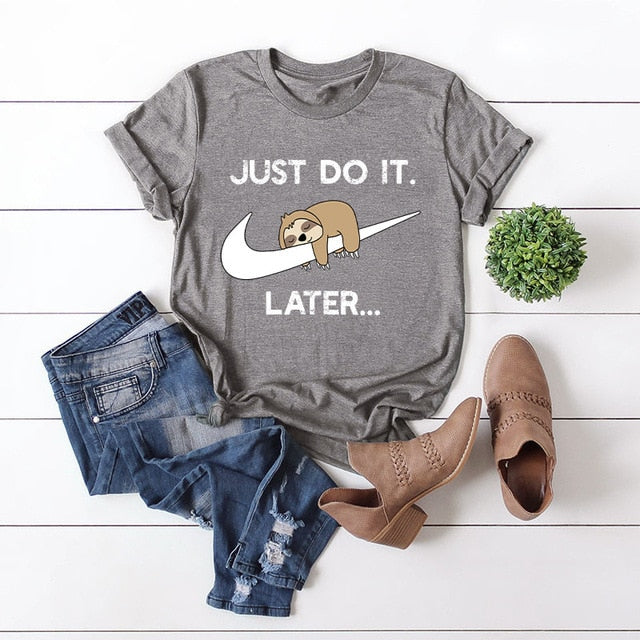 Just do it Later Grapic - Tiny Town Essentials