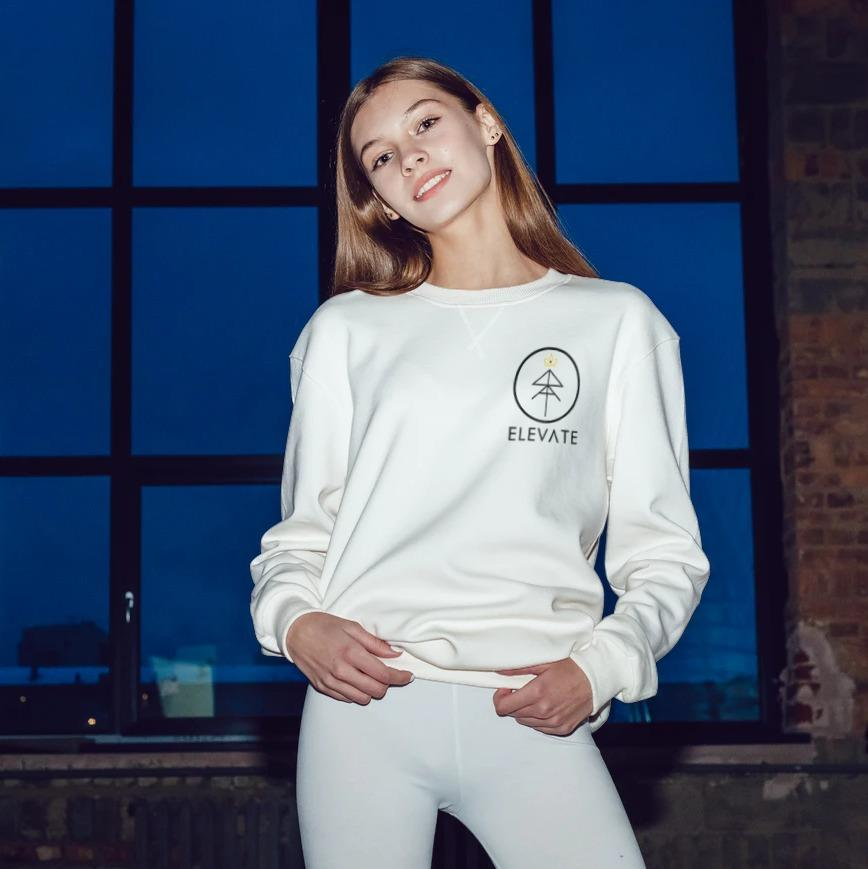 Elevate Symbol Sweatshirt - Tiny Town Essentials