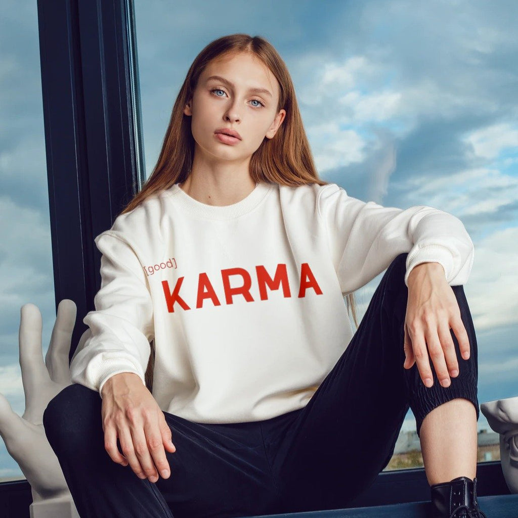 Karma Sweatshirt - Tiny Town Essentials