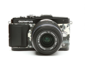 Camera Leather decoration sticker for Olympus PEN E-PL5 & E-PL6 CAMOUFLAGE
