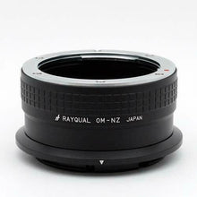 Load image into Gallery viewer, Kindai(Rayqual) Mount Adapter for Nikon Z body to Olympus OM Lens Japan made