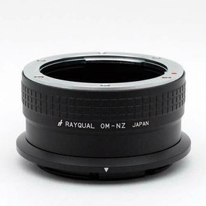 Kindai(Rayqual) Mount Adapter for Nikon Z body to Olympus OM Lens Japan made