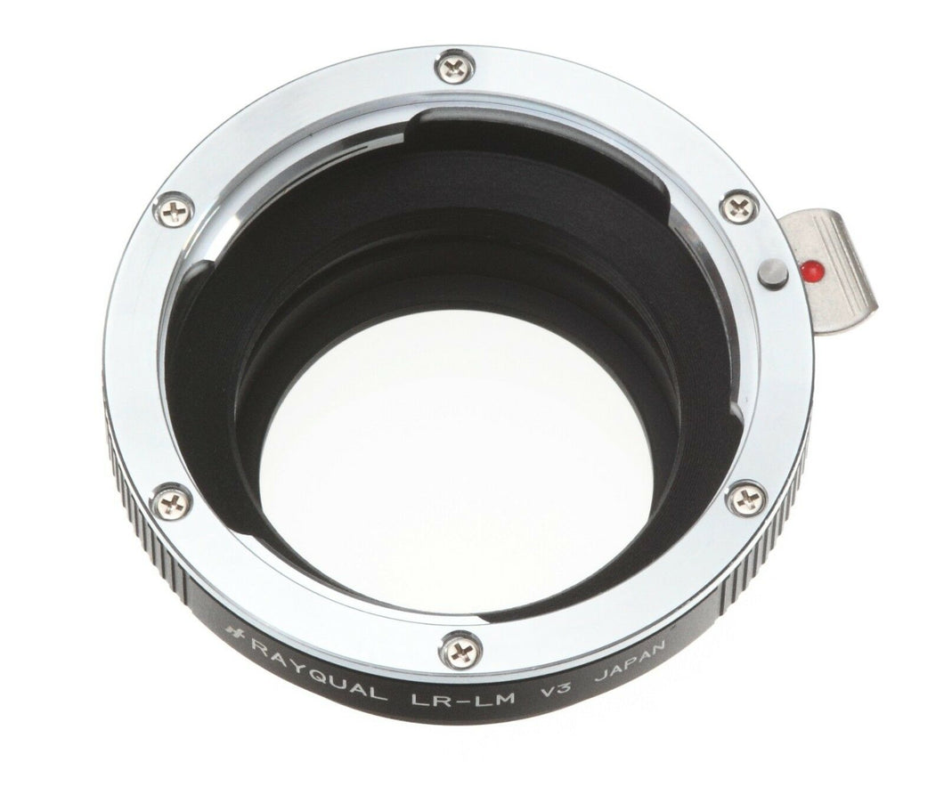 Kindai(Rayqual) Mount Adapter for Leica M body to Leica R lens Made in Japan