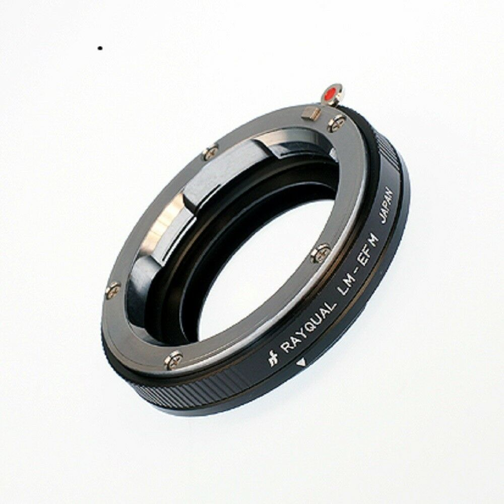 Kindai(Rayqual) Mount Adapter for EOS M body to Leica M lens Japan Made