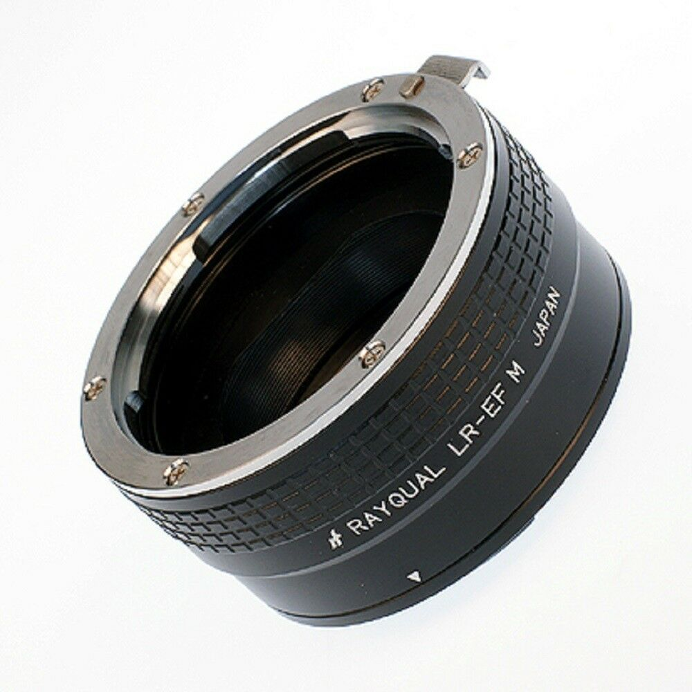 Kindai(Rayqual) Mount Adapter for EOS M body to Leica R lens Japan Made