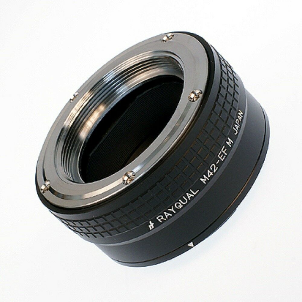 Kindai(Rayqual) Mount Adapter for EOS M body to M42 lens Japan Made