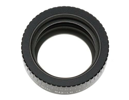 Kindai(Rayqual) Mount Adapter for Leica M body to M42 lens Made in Japan