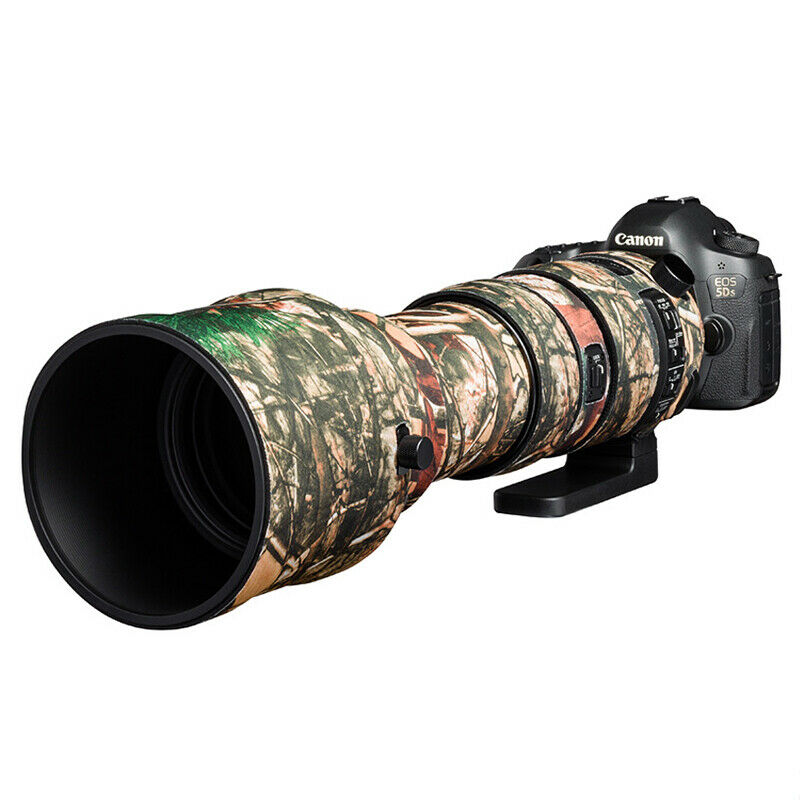 Lens cover for Sigma 150-600mm F5-6.3 DG OS HSM Sport Forest camouflage