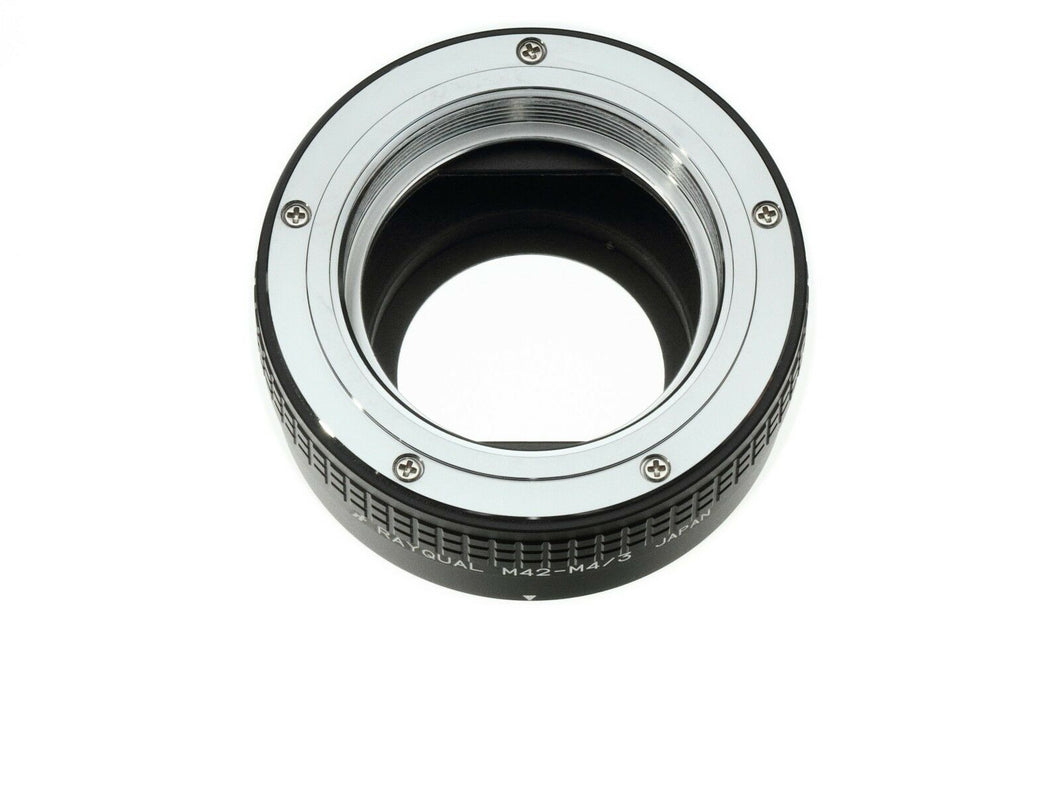 Kindai(Rayqual) Mount Adapter for Micro Four Thirds body to M42 lens Japan Made