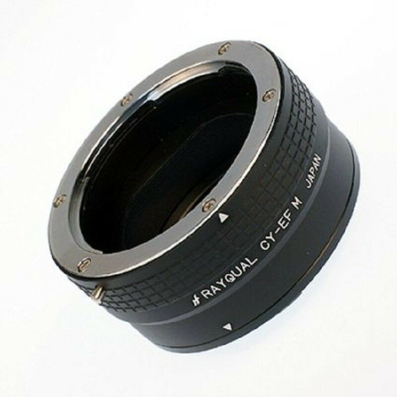 Kindai(Rayqual) Mount Adapter for EOS M body to Contax/Yashica lens Japan Made