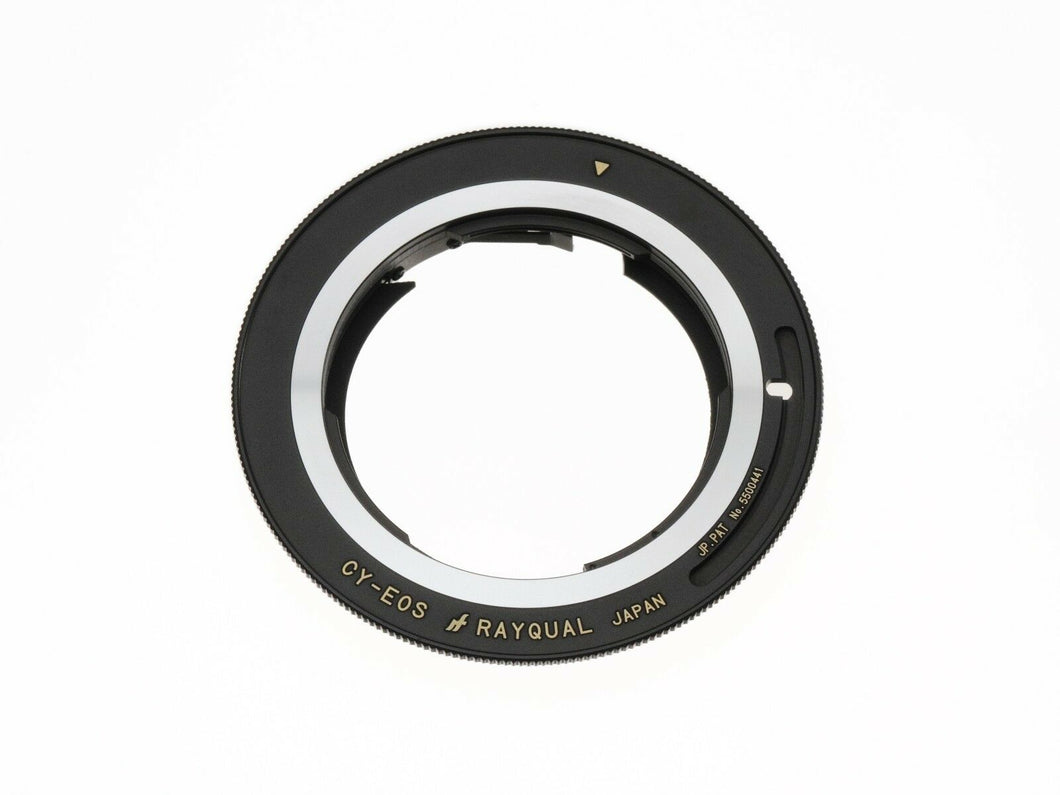 Kindai(Rayqual) Mount Adaptor for EOS to Contax/Yashica Lenses Made in Japan