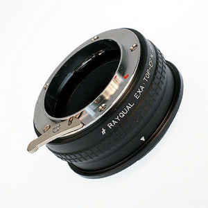 Kindai(Rayqual) Mount Adapter for EOS M body to EXAKTA lens Japan Made