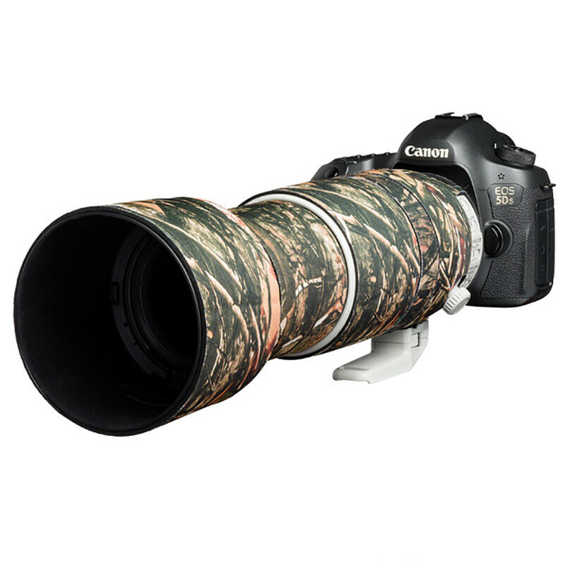 Lens cover for Canon EF 100-400mm F4.5-5.6L IS II USM Forest camouflage
