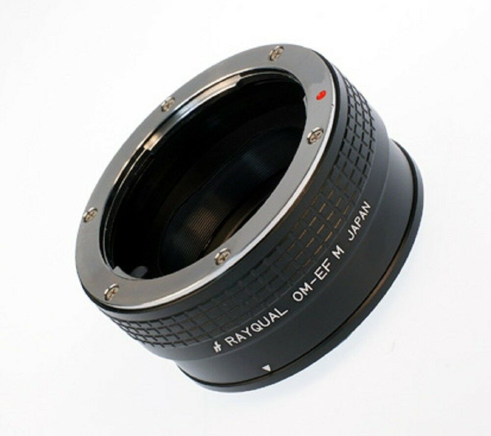 Kindai(Rayqual) Mount Adapter for EOS M body to OM lens Japan Made