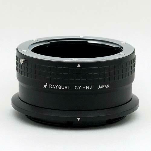 Kindai(Rayqual) Mount Adapter for Nikon Z body to Contax/Yashika Lens Japan made