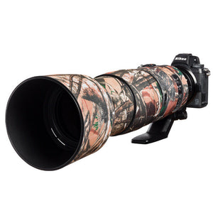 Lens cover for Nikon 200-500mm f/5.6 VR Forest camouflage