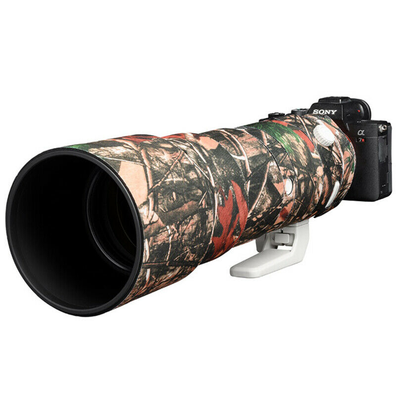 Lens cover for Sony FE 200-600 F5.6-6.3 G OSS Forest Camouflage