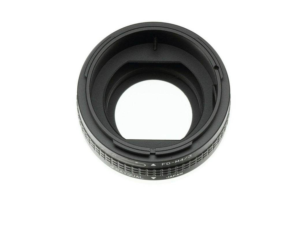 Kindai(Rayqual) Mount Adapter for Micro Four Thirds body to FD lens Japan Made