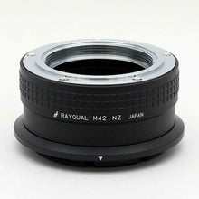Load image into Gallery viewer, Kindai(Rayqual) Mount Adapter for Nikon Z body to M42 Lens Japan made