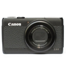 Load image into Gallery viewer, Camera Leather decoration sticker for Canon Powershot S95 4008 Leica Type
