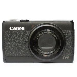 Camera Leather decoration sticker for Canon Powershot S95 4008 Leica Type