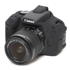 Easy Cover Canon EOS 600D (EOS REBEL T3i) & Screen Protector [Black]