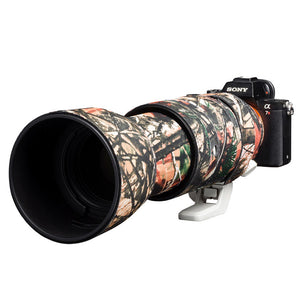 Lens cover for Sony FE 100-400mm F4.5-5.6 GM OSS Forest camouflage