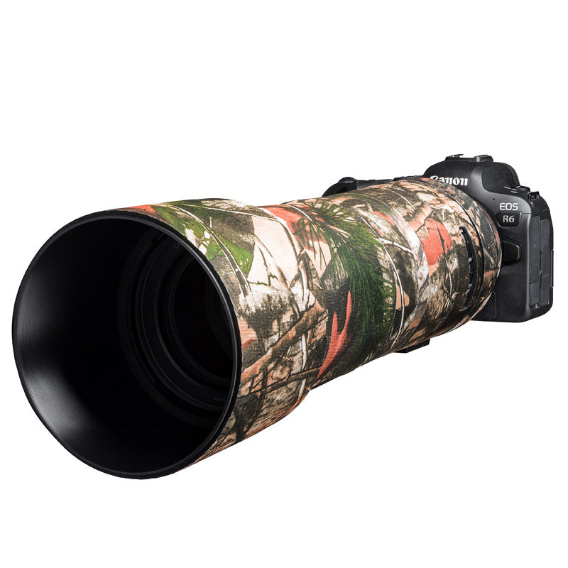 Lens cover for Canon RF800mm F11 IS STM Forest camouflage