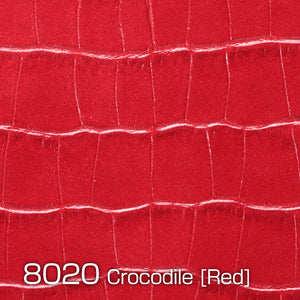 Camera Leather Crocodile Red type 8020 made in Japan