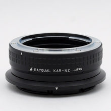Load image into Gallery viewer, Kindai(Rayqual) Mount Adapter for Nikon Z body to KONICA AR Lens Japan made