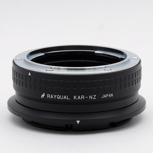 Kindai(Rayqual) Mount Adapter for Nikon Z body to KONICA AR Lens Japan made