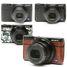 Load image into Gallery viewer, Camera Leather decoration sticker for Sony DSC-RX100 [4 colors]