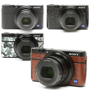 Camera Leather decoration sticker for Sony DSC-RX100 [4 colors]