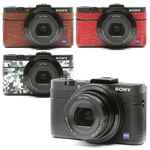 Camera Leather decoration sticker for SONY DSC-RX100M2 [5 colors]