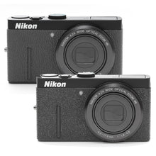 Load image into Gallery viewer, Camera Leather decoration sticker for Nikon COOLPIX P300 [Black 2types]