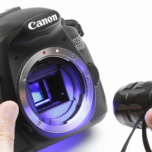 Blue LED Light for Cameras and lenses