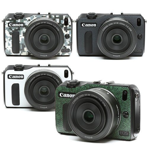 Camera Leather decoration sticker for Canon EOS M   [4 colors]