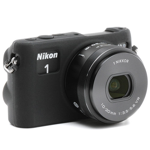 Easy Cover Nikon 1 S2 & Screen Protector [Black]