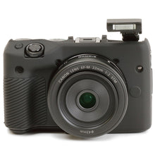 将图片加载到图库查看器,Easy Cover Canon EOS M3 &  Screen Protector [Black]
