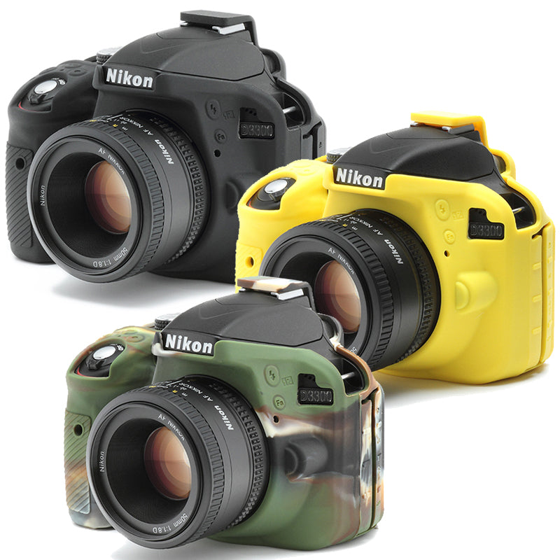 Easy Cover Nikon D3300 &  Screen Protector [3colors]