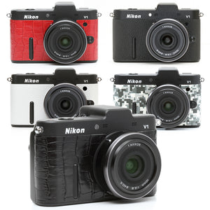 Camera Leather decoration sticker for Nikon1 V1 [6 colors]