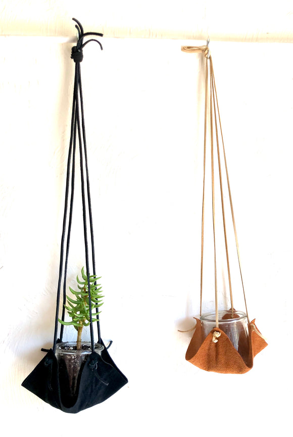 Leather Plant Holders