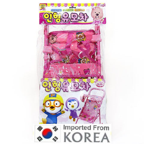 PORORO BABY STROLLER TOY- PINK [ORIGINAL LICENSE] [SELF-COLLECTION ONLY]