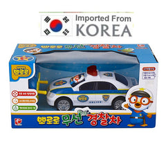 PORORO POLICE CAR WITH REMOTE CONTROL