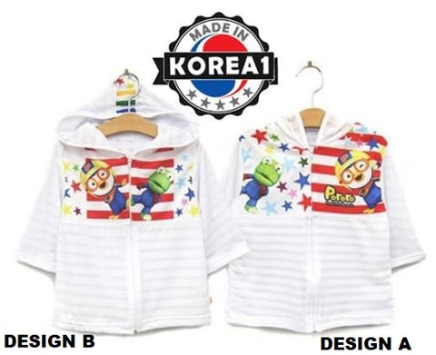 PORORO & CRONG KIDS SUMMER JACKET- STAR [MADE IN KOREA]