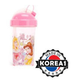 DISNEY PRINCESS STRAW WATER BOTTLE
