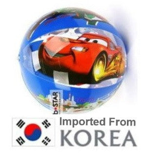 LIGHTNING MCQUEEN BEACH BALL